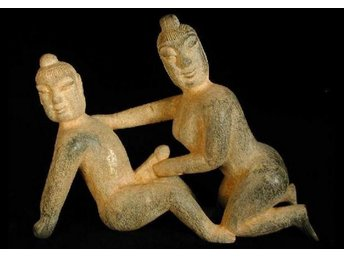 BIG Erotic Ancient Jade Couple. Han period Style  China