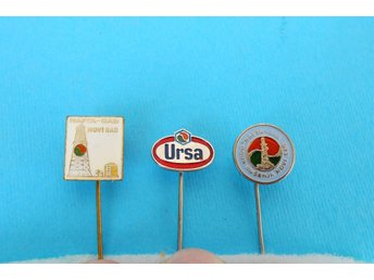 NAFTAGAS - Yugosllav largest oil company ... lot of 3. vintage pins