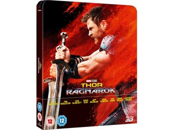 Thor Ragnarok 3D +2D Limited Edition Steelbook Blu-ray
