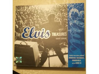 "Exklusiv bok "" The Elvis treasures"" av Robert Gordon"