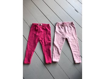 2 par leggings strl 74