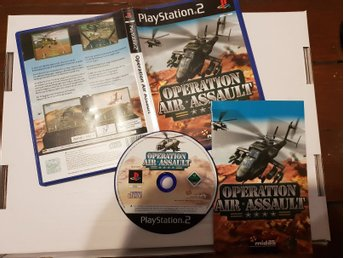 PS2 / Playstation 2 - Operation Air Assault