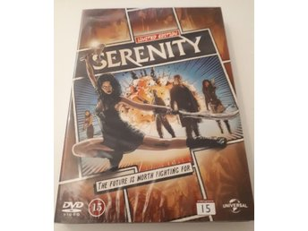 DVD: SERENITY Comic Book COVER Limited Edition / NYTT!!