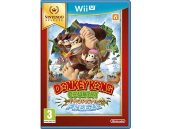 "Wii U spel ""Donkey Kong Country: Tropical Freeze"""