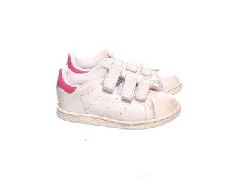 Adidas Originals, Sneakers, Strl: 26, Stan Smith, Vit/Cerise