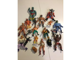 Retro actionfigurer. 80-tal. He-man, Wrestling mm