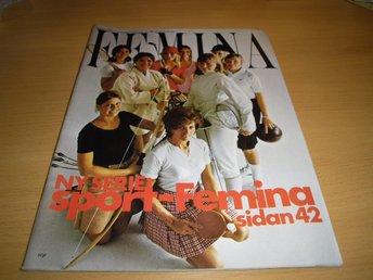 TIDNING FEMINA 39/1970 MODE INREDNING SPORT - Uppsala - TIDNING FEMINA 39/1970 MODE INREDNING SPORT - Uppsala