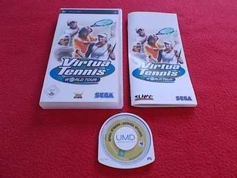 VIRTUA TENNIS WORLD TOUR till Sony PSP