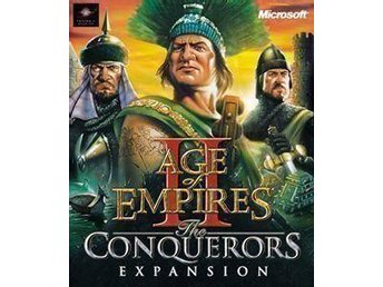 AGE OF EMPIRES II - THE CONQUERORS EXPANSION - BIG BOX - Göteborg - AGE OF EMPIRES II - THE CONQUERORS EXPANSION - BIG BOX - Göteborg