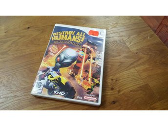 DESTROY ALL HUMANS BIG WILLY UNLEASHED BEG WII - Uddevalla - DESTROY ALL HUMANS BIG WILLY UNLEASHED BEG WII - Uddevalla