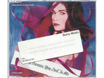 CATHY DENNIS - YOU LIED TO ME  ( CD MAXI/SINGLE )