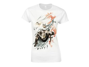 Batman Special Comic Book Cover girlie t-shirt - Small