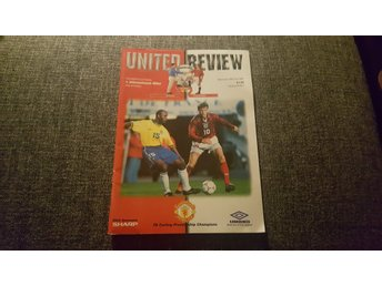 Program Manchester United v Inter 1997