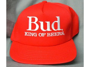 Budweiser King of Beers keps original reklam Made in USA