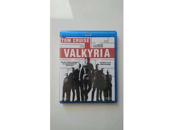 Valkyria (Blu-ray) Tom Cruise, Manfred Anton Algrang - Sv text
