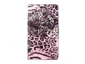 Sony Xperia Z3 Compact Fodral Leopardm?nster Rosa