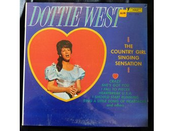 Dottie West ‎– The Country Girl Singing Sensation