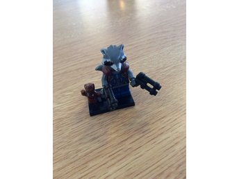 Rocket med Groot (Guardians of the galaxy minifigurer)(ny)