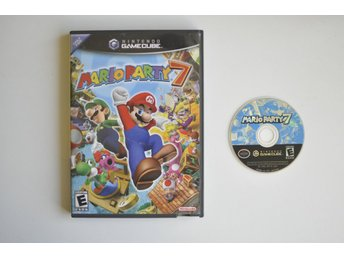 Mario Party 7 - Nintendo Gamecube (NTSC, USA, GC)