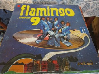 FLAMINGO KVINTETTEN 9 -  LP