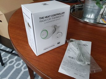 Fibaro The Heat Controller Thermostat och Sensor zwave