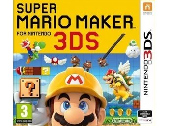 Super Mario Maker for Nintendo 3DS (helt nytt)
