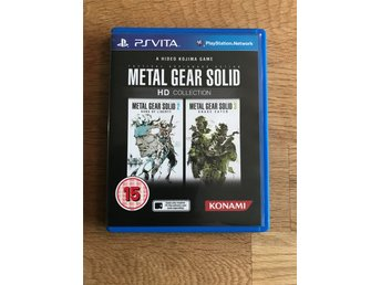Metal Gear Solid HD Playstation VITA PS