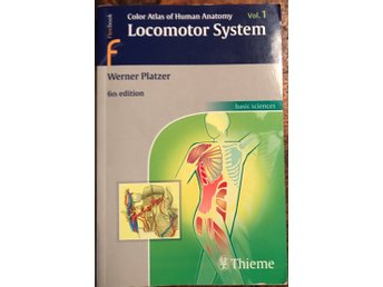Color Atlas of Human Anatomy Vol 1. 6th Edition av Platzer ISBN 9783135333069