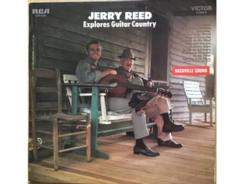 Jerry Reed - Explorers Guitar Country - LP - 1969