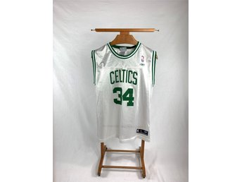 Vintage Reebok Boston Celtics basketlinne NBA #34 Pierce - Storlek S/M