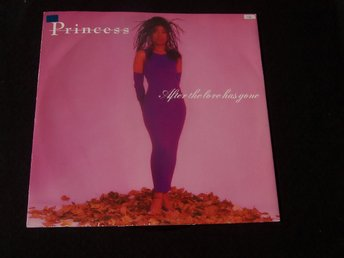 "PRINCESS - AFTER THE LOVE HAS GONE 12"" 1985"