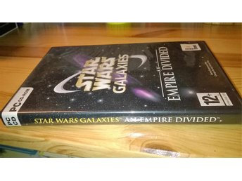 Star Wars Galaxies an empire divided. pc cd-rom