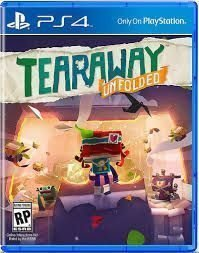 Tearaway unfolded PS4 game spel playstation 4