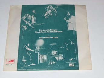 "THE MOODY BLUES - I´M JUST A SINGER  7""  NEAR MINT"