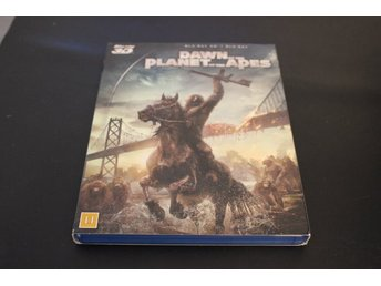 Bluray3D+Bluray-film: Dawn of the planet of the apes