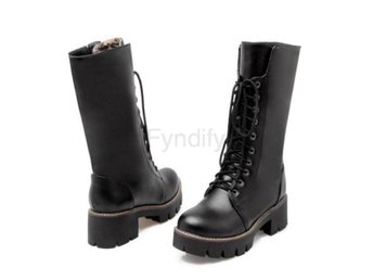 Dam Boots Warm Thick Fur Martin Boot Woman Shoes Black 41