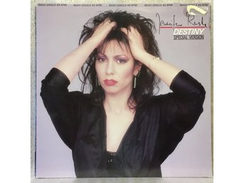 "Jennifer Rush / DESTINY -- 12"" maxisingel 45 rpm -- MINT vinyl"
