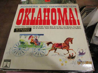 RODGERS AND HAMMERSTEIN - OKLAHOMA - LP