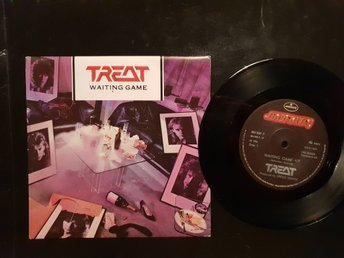 Treat Waiting game/vinylsingel 1986