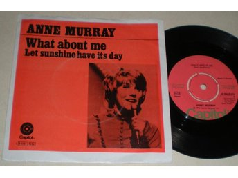 Anne Murray 45/PS What about me 1973