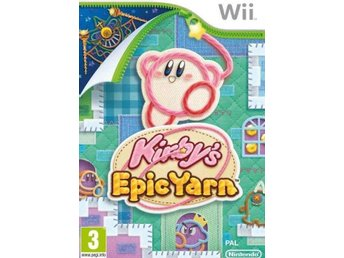 Kirby's Epic Yarn Nintendo Wii - Huddinge - Kirby's Epic Yarn Nintendo Wii - Huddinge