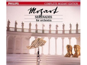 Philips Complete Mozart Edition - Serenades For Orchestra - 7CD-BOX