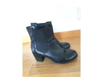 boots jodphurs i skinn läder med klack och resår xit din sko - Göteborg - boots jodphurs i skinn läder med klack och resår xit din sko - Göteborg
