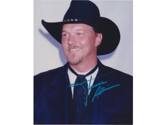 TRACE ADKINS AMERICAN COUNTRY MUSIC SINGER PRE-PRINT AUTOGRAF FOTO