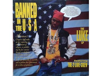 Luke Featuring The 2 Live Crew   titel*  Banned In The U.S.A. LP