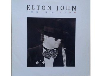 Elton John title* Ice On Fire* Pop Rock, Synth-pop LP EU