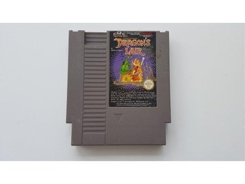 Nintendo NES 8-bitar SCN Sullivan Bluth presents Dragon's lair Dragons lair