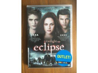 Eclipse The Twilight saga - DVD Mkt Bra Skick!