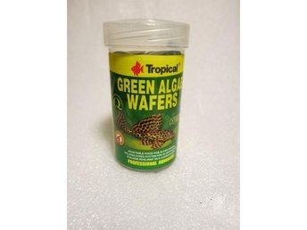 100ml  Tropical green alge wafers lösvikt