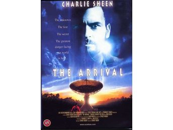 The Arrival 96 David Twohy med Charlie Sheen, Lindsay Crouse FIN DVD OOP